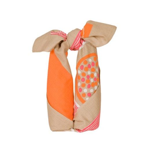 FUROSHIKI 90cm -Kotka Orange-