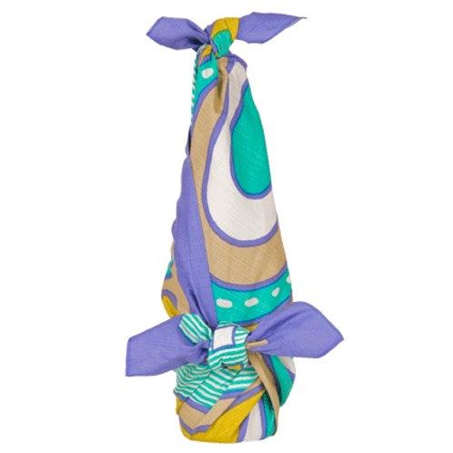 FUROSHIKI 90cm -SATAMA Blue-