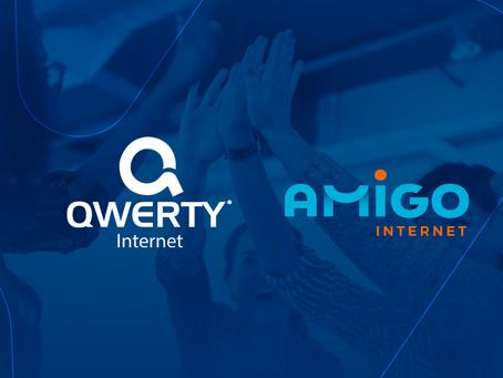 Qwerty Internet une forças com Amigo Internet