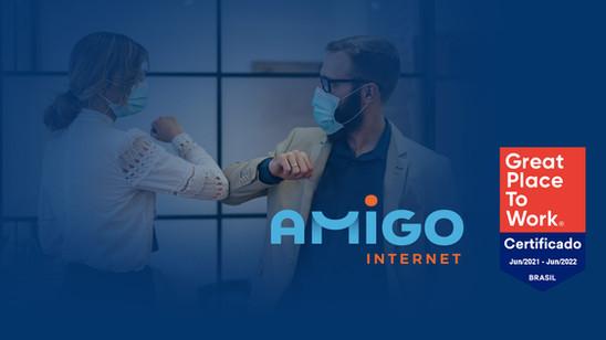 Amigo Internet recebe certificado Great Place To Work