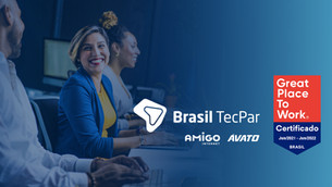 Brasil TecPar recebe certificado Great Place To Work