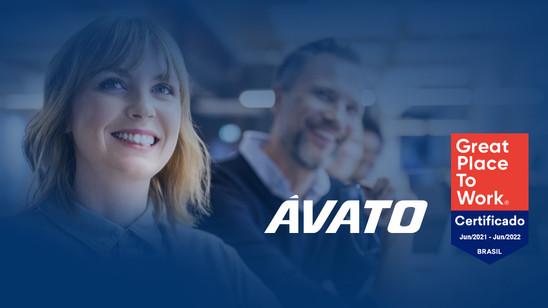 Ávato recebe certificado Great Place To Work