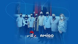 Amigo Internet une forças com ViEx Fibra em Santana do Livramento