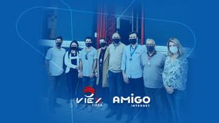Amigo Internet une forças com ViEx Fibra e consolida sua presença em Santana do Livramento