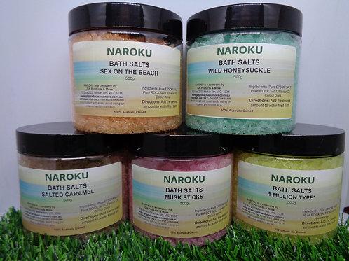 NAROKU - Bath Salts - 500g