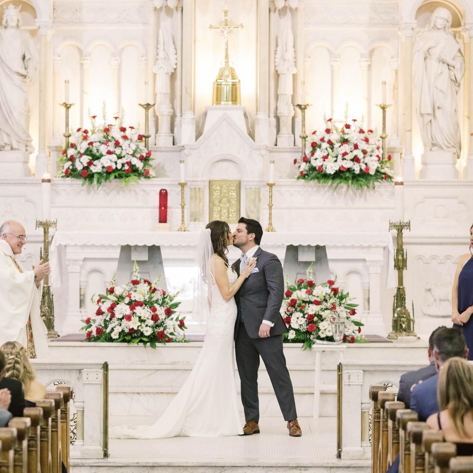 Sacred Heart Wedding
