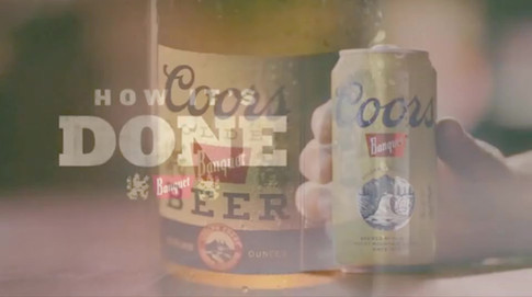 Coors Banquet Beer Sean Thonson Director
