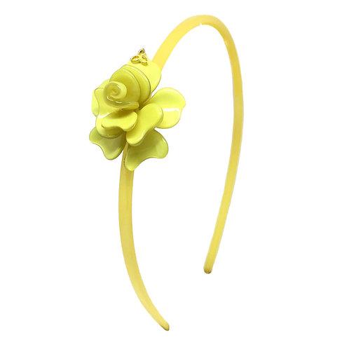 Tiara Florzinha Amarela