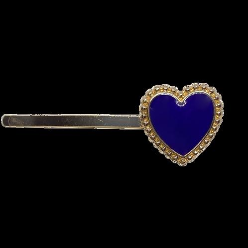 Grampo Coração Azul