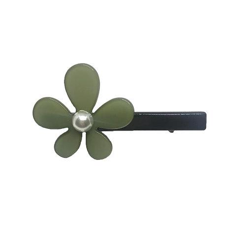 Pinça Flor Verde