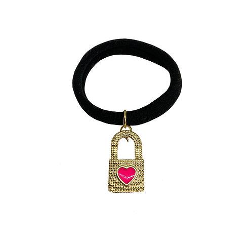 Elástico Love Lock Pink