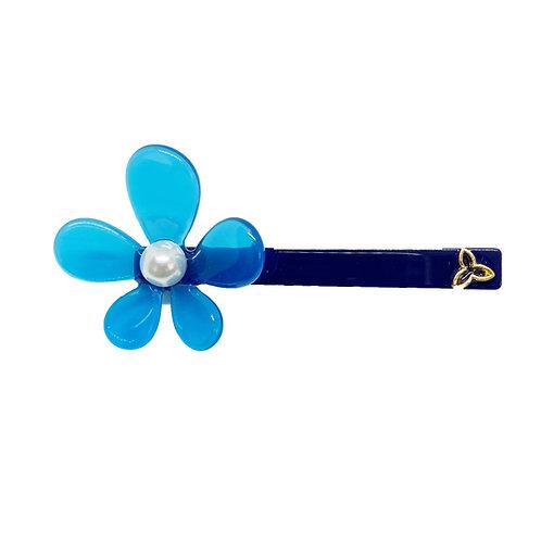 Pinça Flor Azul