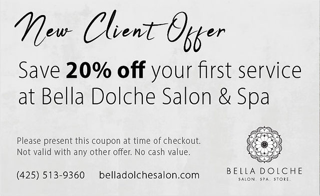 new client coupon offer