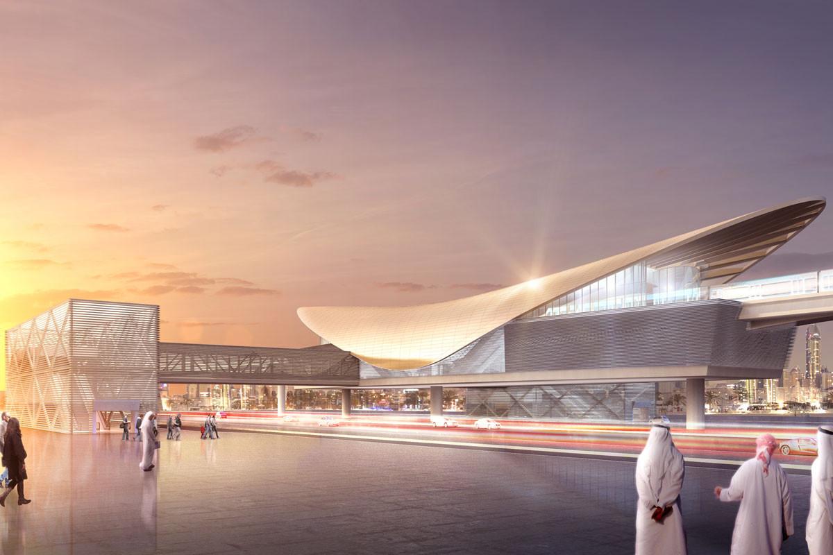 Dubai Metro Route 2020, UAE