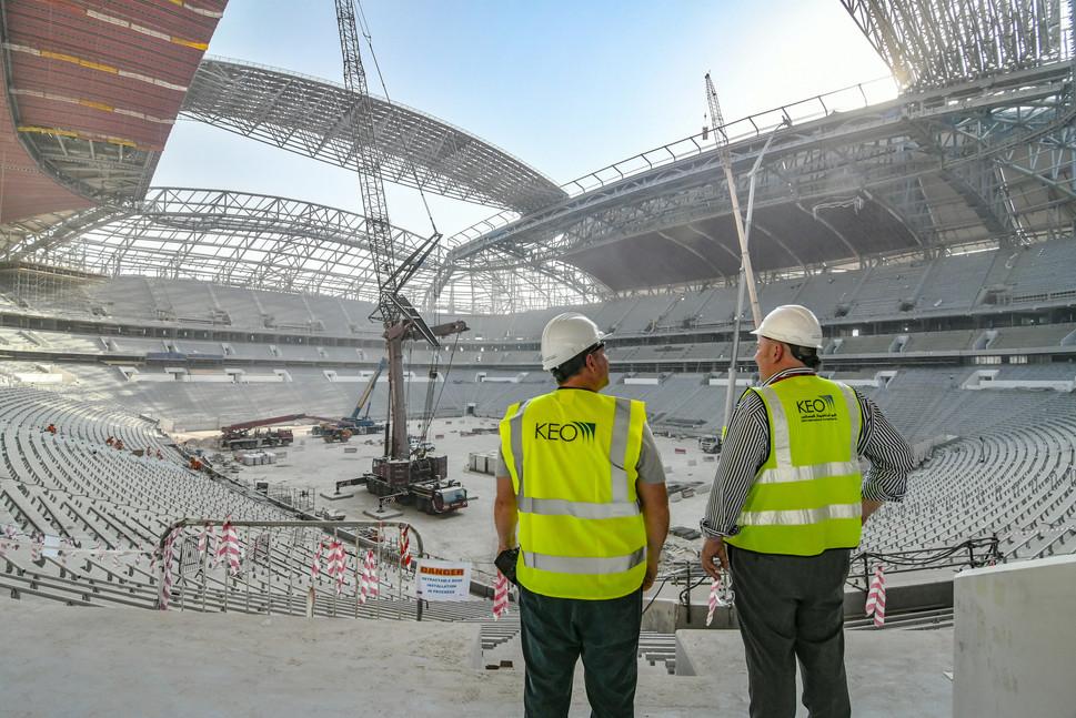 Al Bayt Stadium, Doha, Qatar