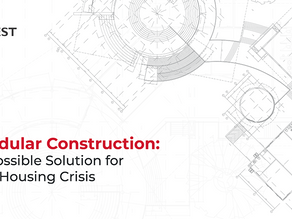 Modular Construction: A Possible Solution for the Housing Crisis