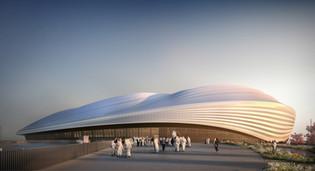 Al Wakra Stadium, Doha, Qatar