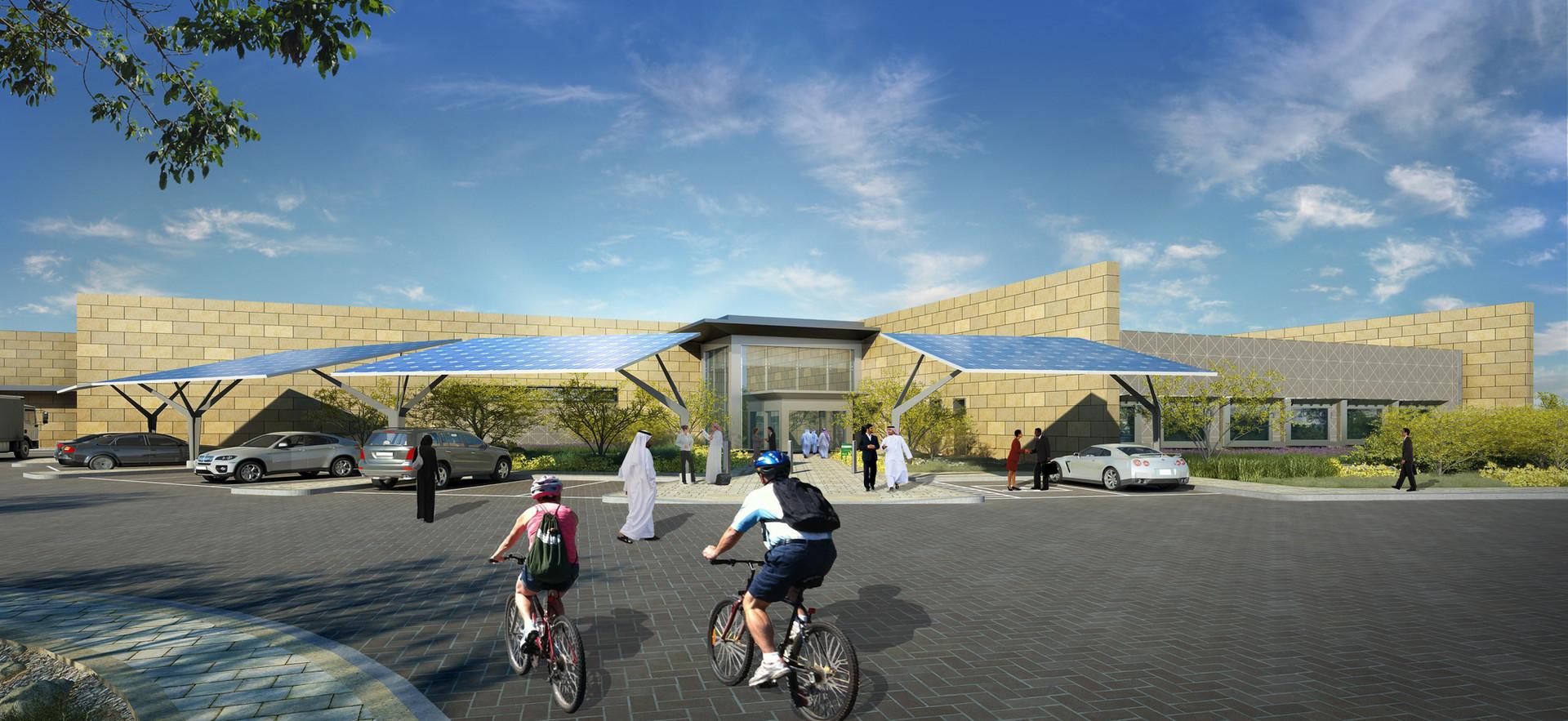 QSTP Solar Test Facility, Qatar