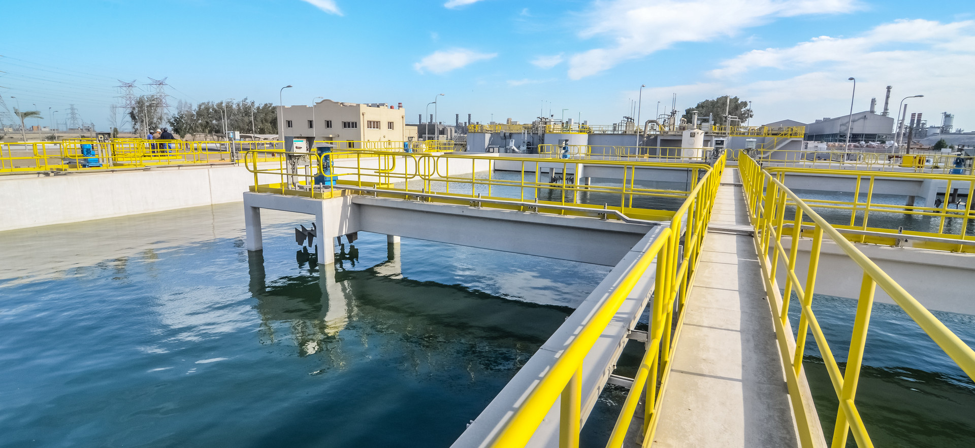Wastewater Treatment Plant, Qatar