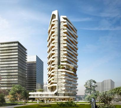 Wafra Residential Tower, Qatar