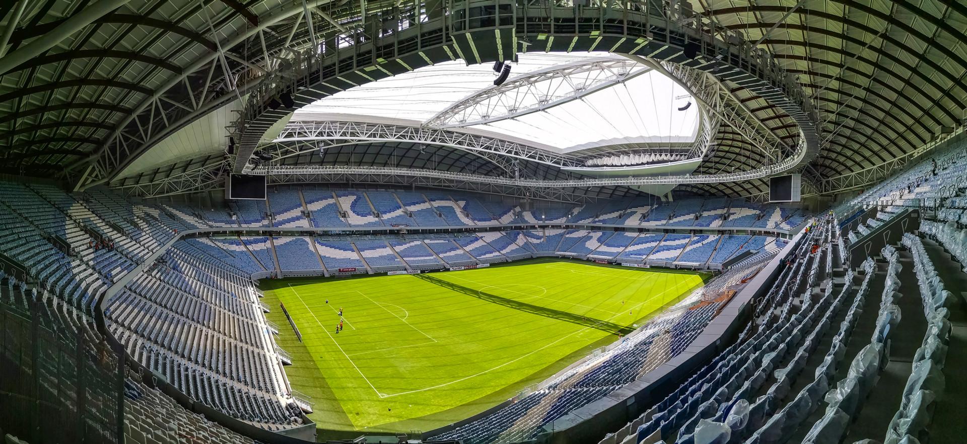 Al Wakrah Stadium, Doha, Qatar