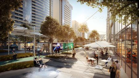 Downtown Abu Dhabi Pedestrianization