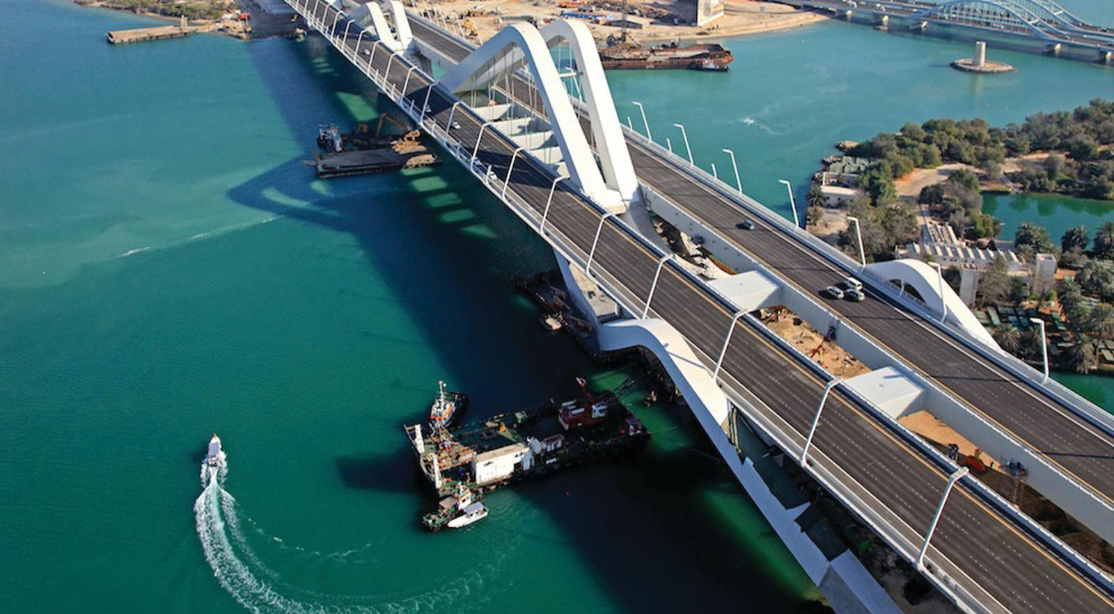 Sheikh Zayed Bridge, UAE
