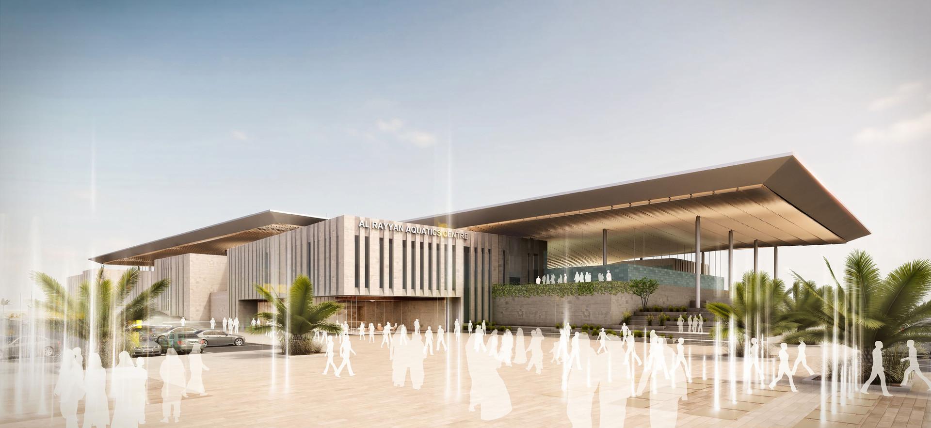 QOC Aquatic Center, Qatar