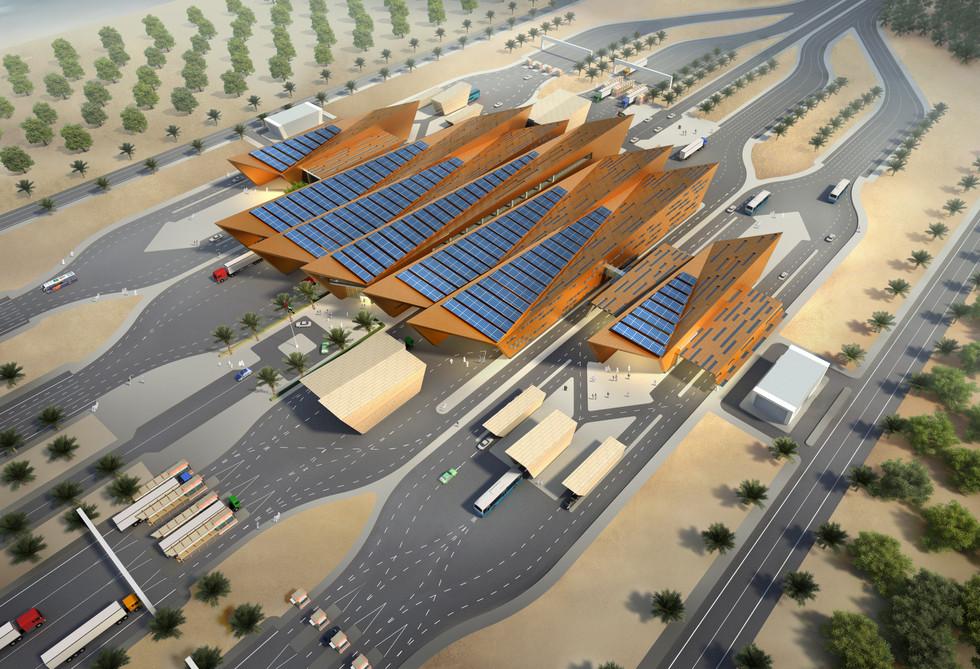 Gwheifat Border Post, Abu Dhabi, UAE