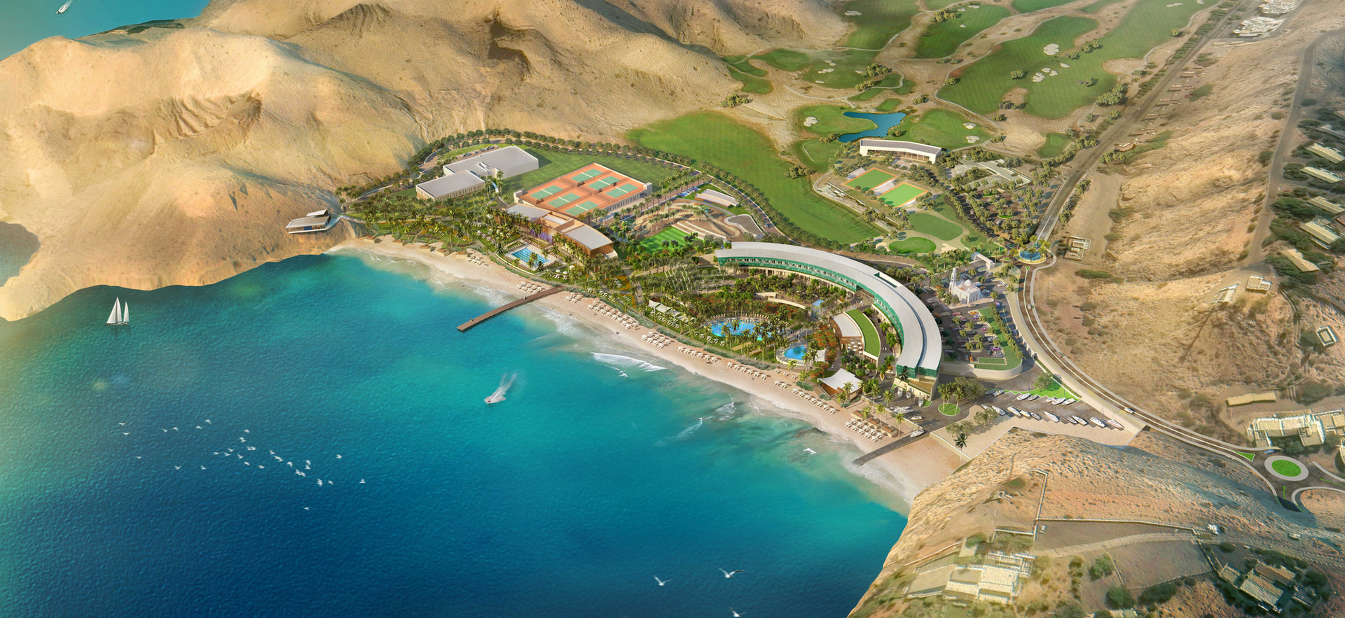 Recreation Club, Ras Al Hamra, Oman