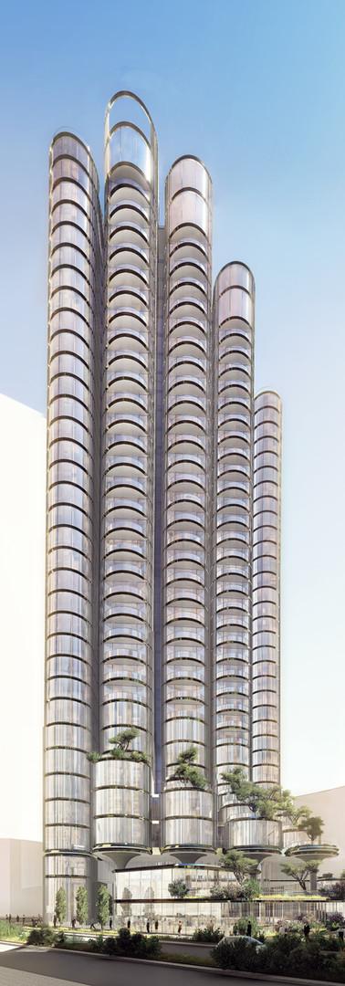 Shams Residential Tower, Abu Dhabi,UAE