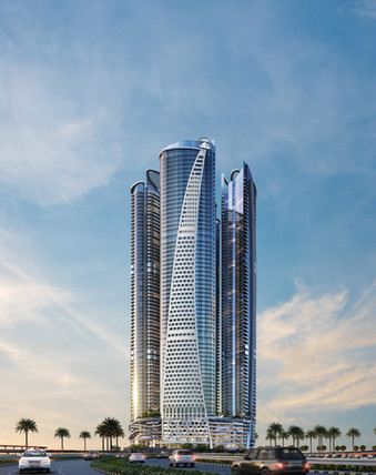 Damac Paramount Towers, Dubai, UAE