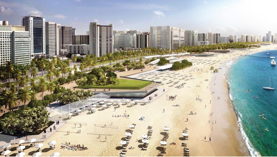 Corniche Beach Revitalization, Abu Dhabi