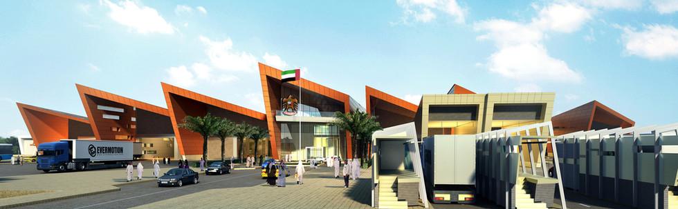 Ghweifat Border Post, Abu Dhabi, UAE