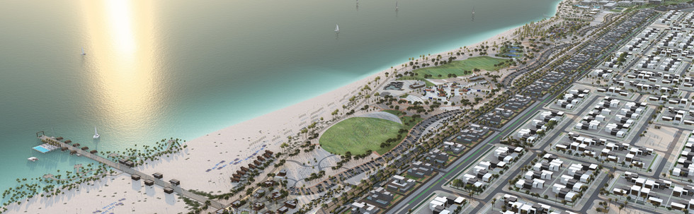 Hudayriat Island Master Plan, Abu Dhabi