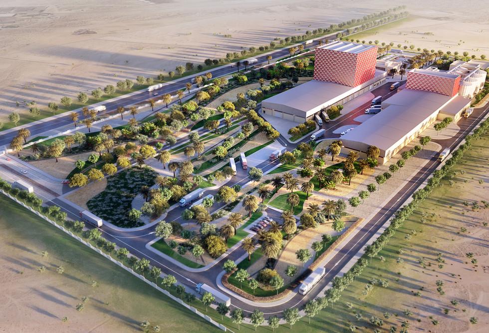 Zabeel Feed Mill, Dubai, UAE