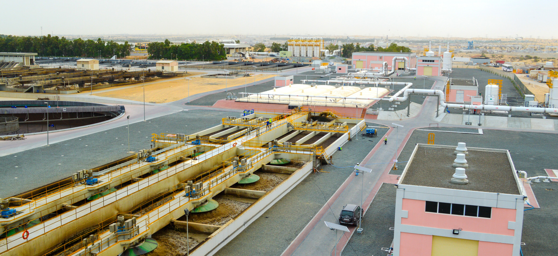Al Aweer STP Expansion, Dubai, UAE