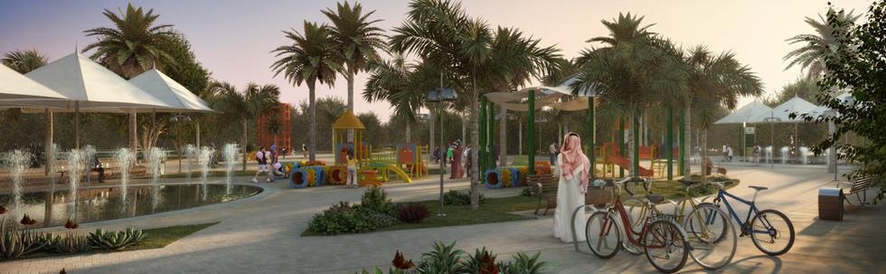 MBZ Public Realm, Abu Dhabi, UAE
