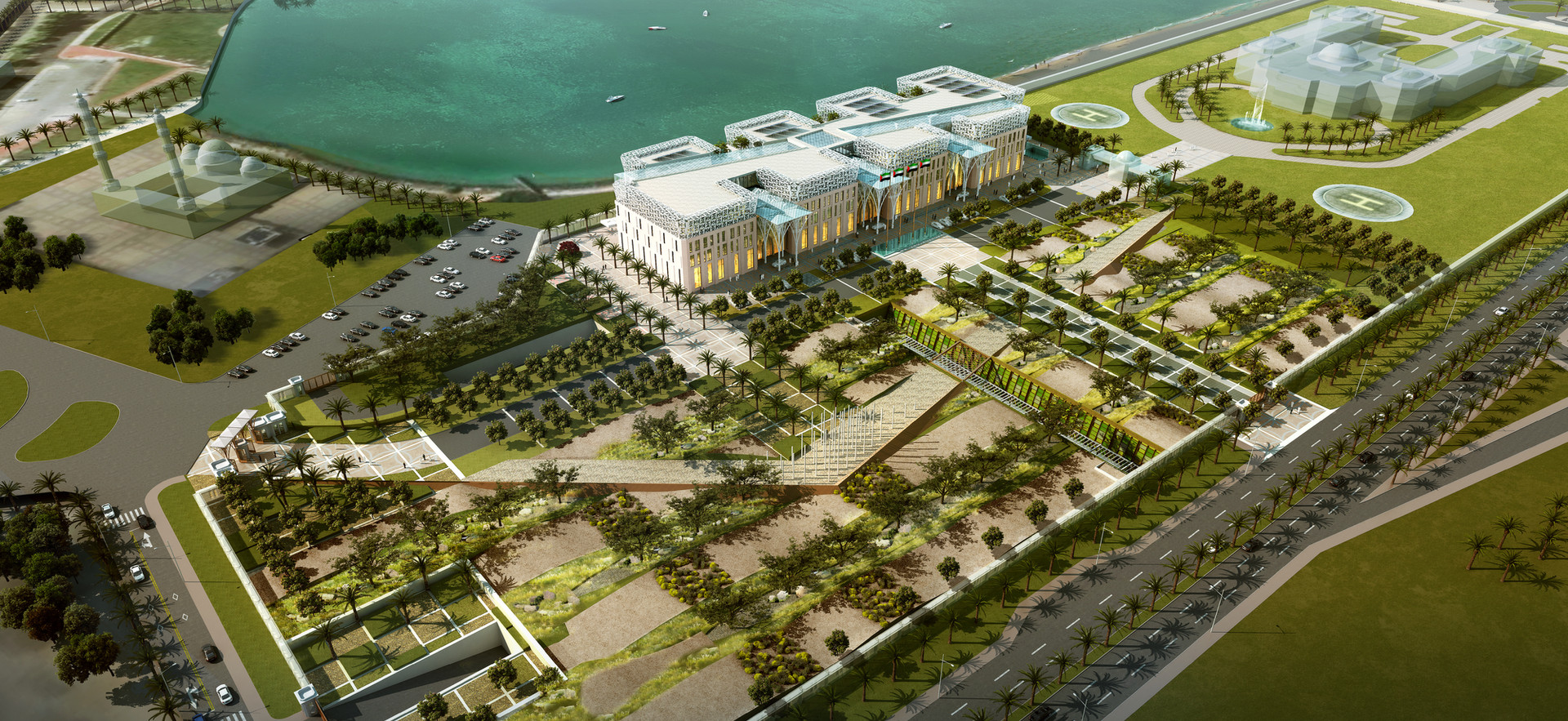 Executive Council Building, Abu Dhabi