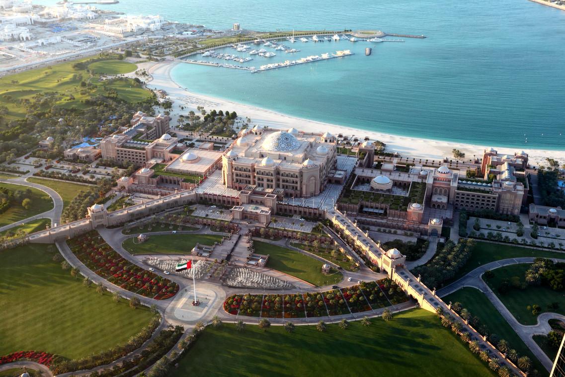Emirates Palace Hotel, Abu Dhabi, UAE