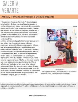 Fernanda Fernandes e Octavio Bragante