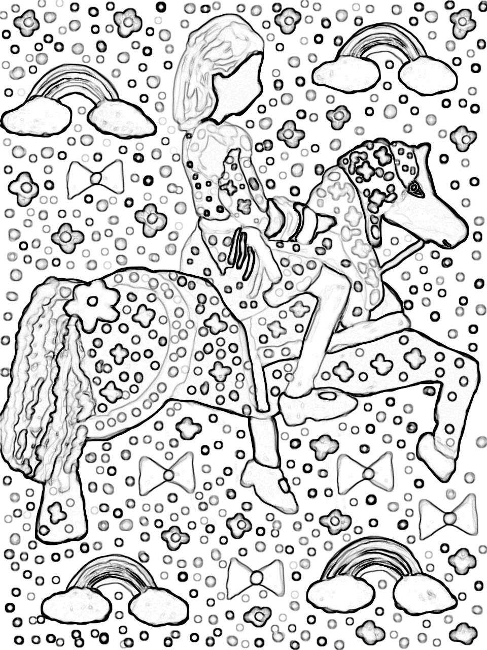 Gaby Alves - Cavalo