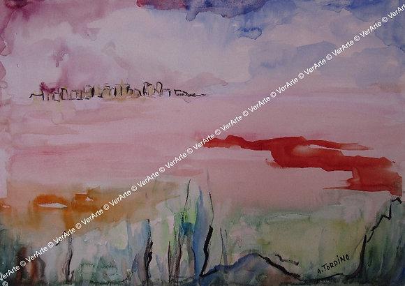 "Antonietta Tordino - ""Paisagem III"""