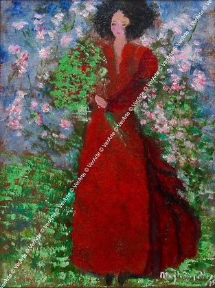 "Magda Bugelli - ""Lady in red"""