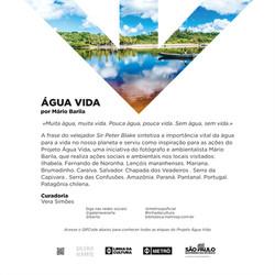 ÁGUA VIDA - MÁRIO BARILA
