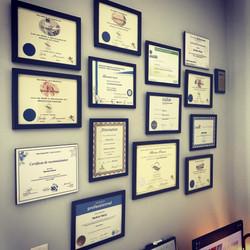 Le Plaisir de Bouger certificats