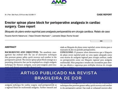 Artigo publicado na Revista Brasileira de Dor