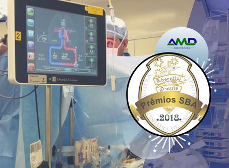 Prêmio dr. Walter Silva Machado - SBA2018 para a AMD