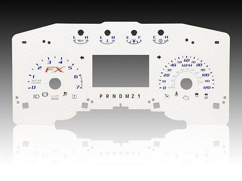 2011-2014 - FORD F-150 FX White (MPH/SHIFTER - PRNDM21)
