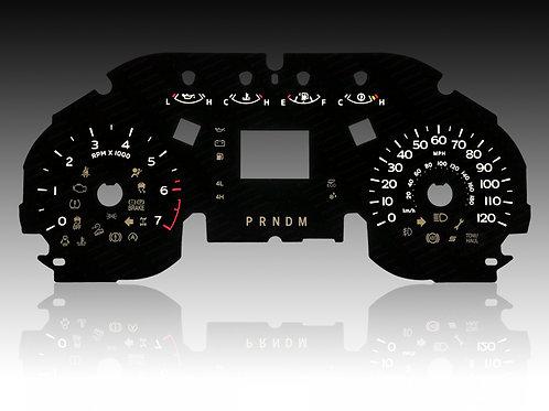 2018-2020 - Ford F-150 - Small Screen (MPH/SHIFTER - PRNDM)